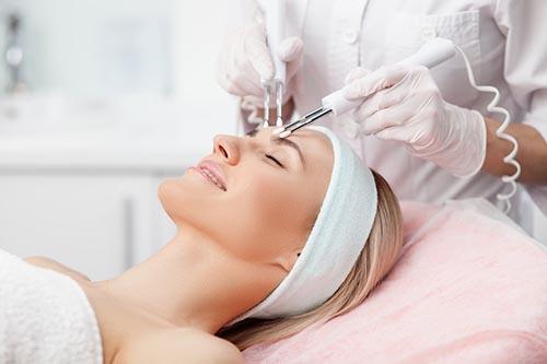 CACI treatment woman